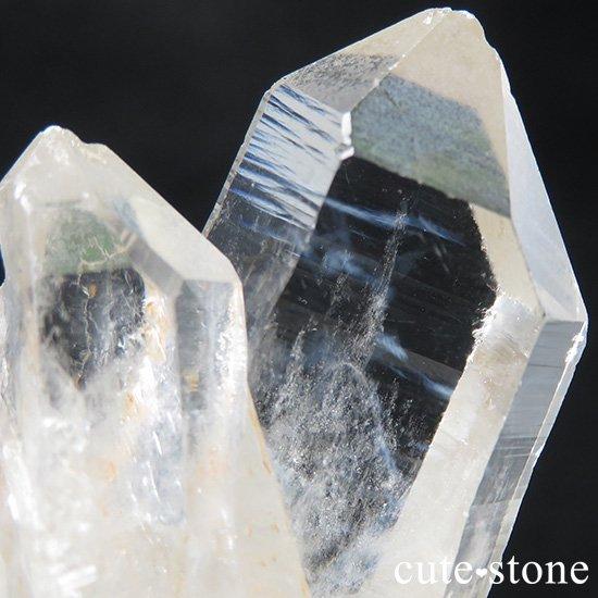 ブルーラダー(ブルーフェザーインクォーツ)のクラスター 122gの写真0 cute stone