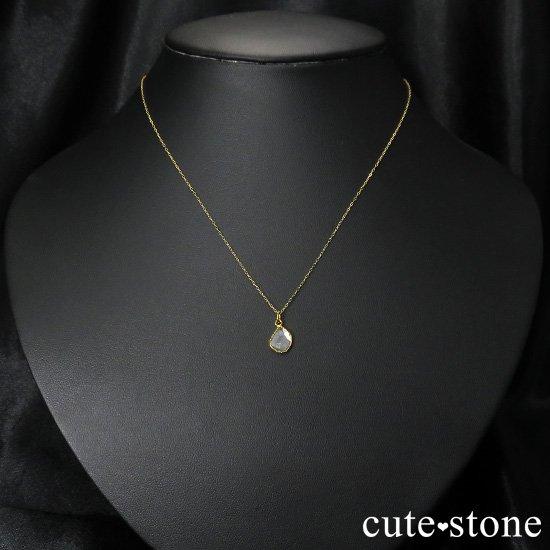 スライスダイヤモンド K18製のペンダントトップ No.1の写真2 cute stone