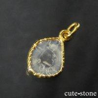 スライスダイヤモンド K18製のペンダントトップ No.1の画像