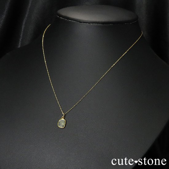 スライスダイヤモンド K18製のペンダントトップ No.2の写真3 cute stone