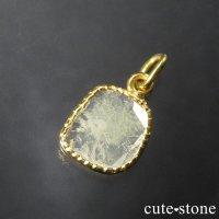 スライスダイヤモンド K18製のペンダントトップ No.2の画像