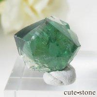 イングランド ロジャリー鉱山産 蛍光フローライトの結晶(原石)4.2gの画像