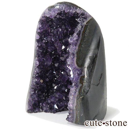 ウルグアイ産アメジストドーム(カペーラ・置物)ミニサイズ 920gの写真0 cute stone