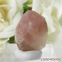 カザフスタン産 ストロベリークォーツ(苺水晶)の結晶・原石 5.3gの画像