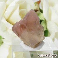 カザフスタン産 ストロベリークォーツ(苺水晶)のクラスター・原石 6.5gの画像
