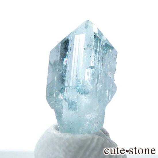コロンビア産 ユークレースの結晶(原石) 1.7ct