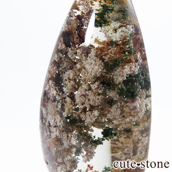 ガーデンクォーツのドロップ型ルースの写真2 cute stone