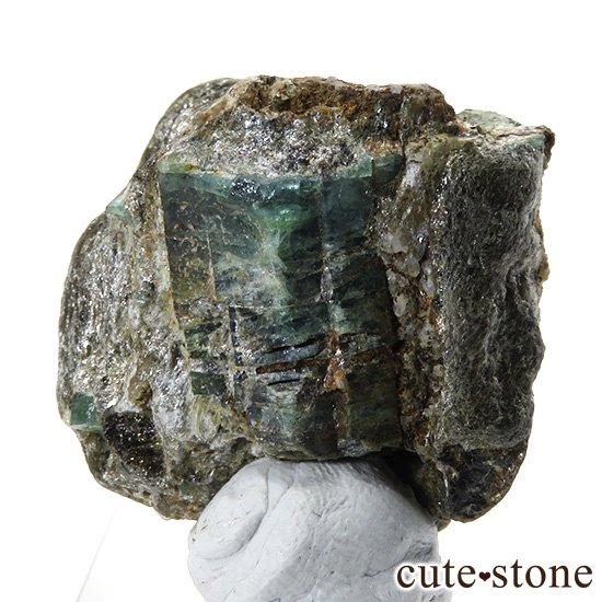 アフガニスタン産 母岩付きエメラルドの原石(標本)9.8gの写真3 cute stone