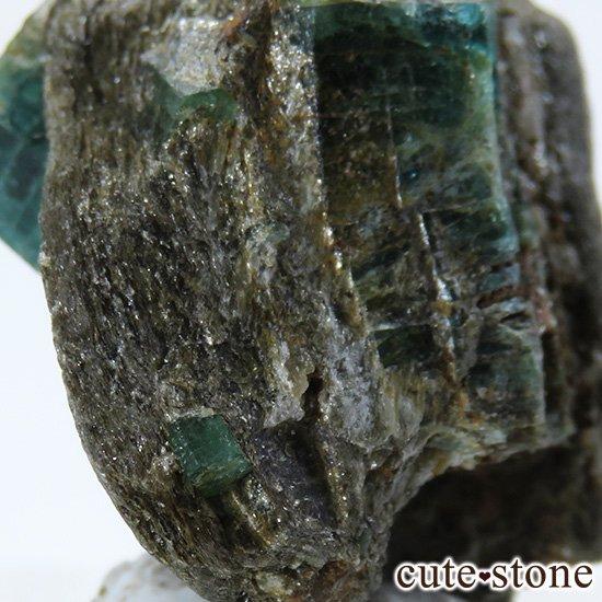 アフガニスタン産 母岩付きエメラルドの原石(標本)9.8gの写真4 cute stone