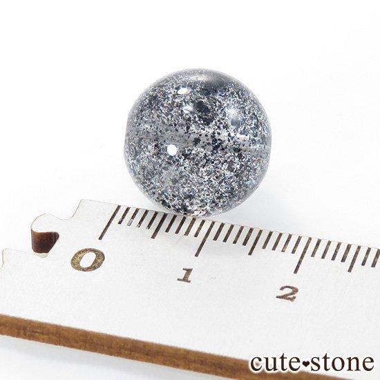 【粒売り】 ヘマタイトインクォーツ AAAA++ ラウンド 15mmの写真3 cute stone