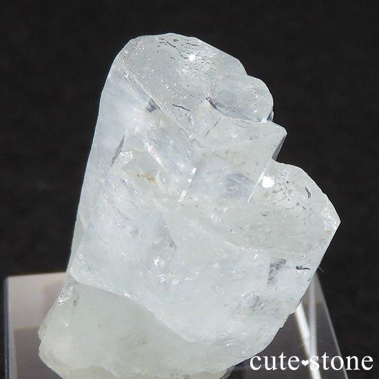 パキスタン産アクアマリン 結晶(原石)15.2gの写真2 cute stone