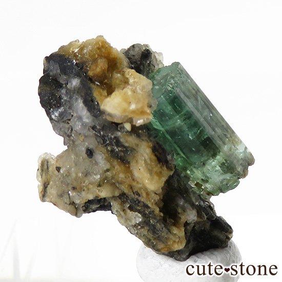アフガニスタン産 エメラルドの母岩付き原石(標本)3.3gの写真2 cute stone
