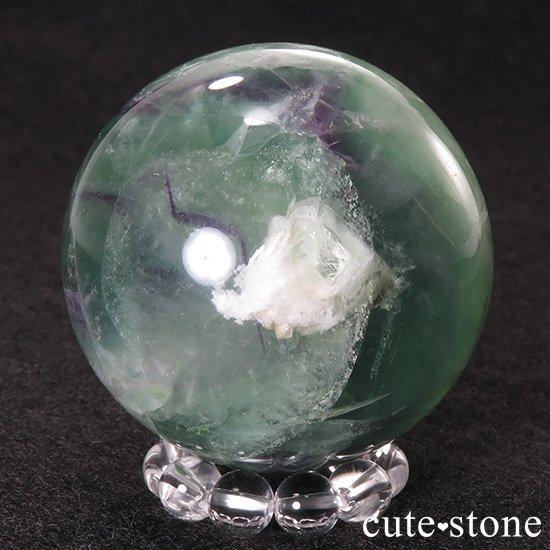 フェザーインフローライト(エンジェルフェザー)の丸玉 40mmの写真1 cute stone