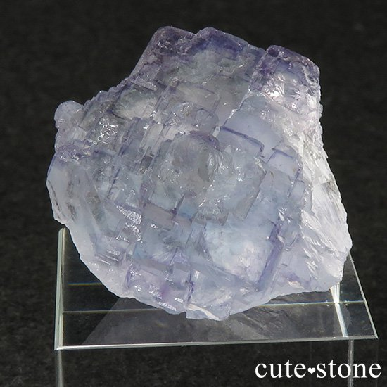 ヤオガンシャン産 ブルーフローライトの結晶(原石)26gの写真0 cute stone