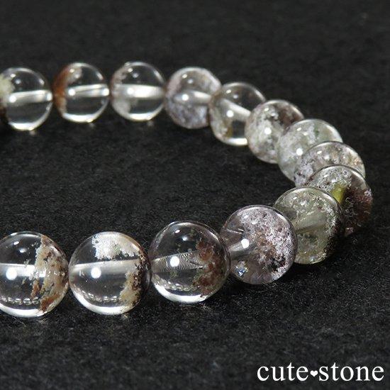 【1/2売り対象】 ガーデンクォーツ AAA++ 8mm ブレスレットの写真0 cute stone