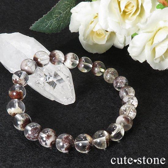 【1/2売り対象】 ガーデンクォーツ AAA++ 8mm ブレスレットの写真2 cute stone