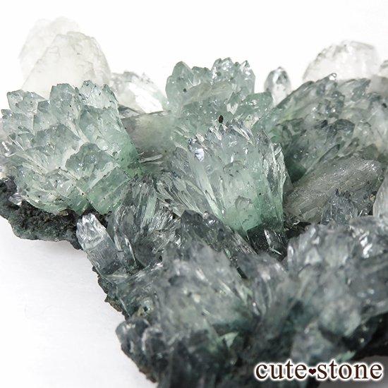インド産 グリーンアポフィライト&スティルバイト の原石 30g