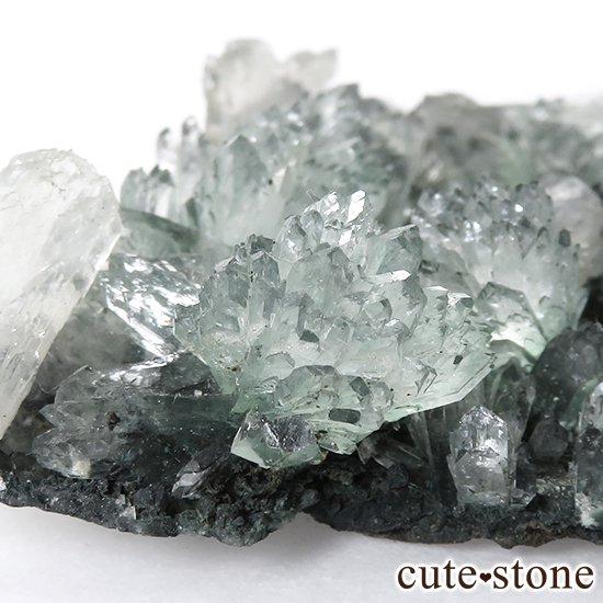 インド産 グリーンアポフィライト&スティルバイト の原石 30gの写真0 cute stone