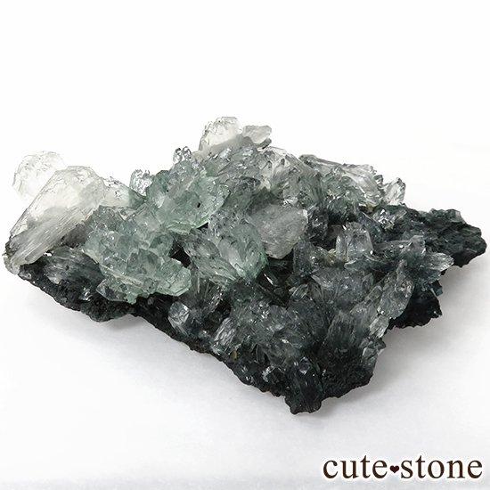 インド産 グリーンアポフィライト&スティルバイト の原石 30gの写真1 cute stone