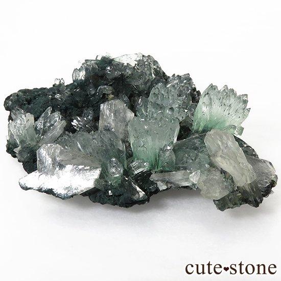 インド産 グリーンアポフィライト&スティルバイト の原石 30gの写真2 cute stone