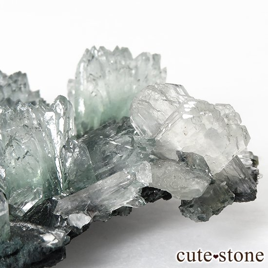 インド産 グリーンアポフィライト&スティルバイト の原石 30gの写真4 cute stone