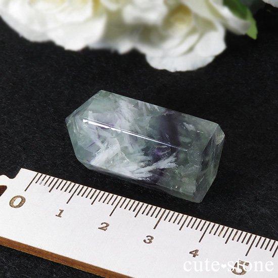 フェザーインフローライト(エンジェルフェザー)のポリッシュポイント 20.8gの写真2 cute stone