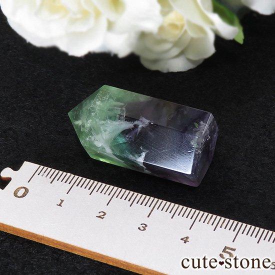 フェザーインフローライト(エンジェルフェザー)のポリッシュポイント 19.9gの写真2 cute stone