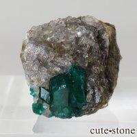 カザフスタン産のダイオプテーズの原石 4gの画像