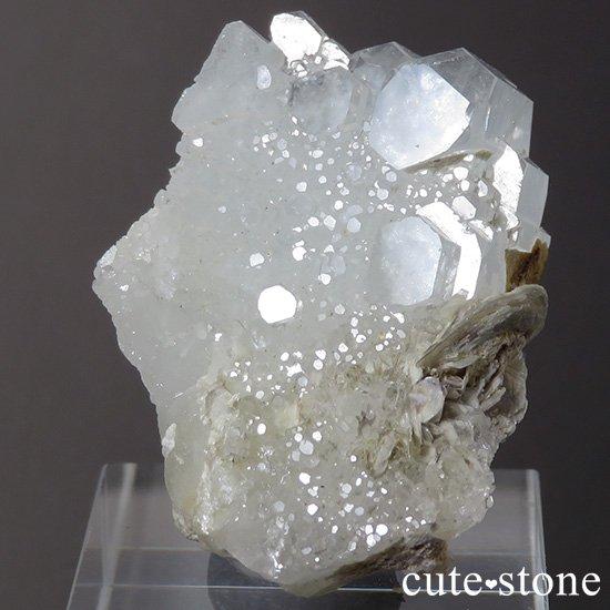 パキスタン産 アクアマリンの結晶(原石)20gの写真2 cute stone