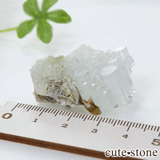 パキスタン産 アクアマリンの結晶(原石)20gの写真3 cute stone