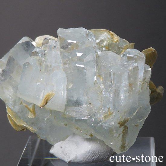 パキスタン産 アクアマリンの結晶(原石)27gの写真2 cute stone