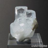 パキスタン産 アクアマリンの結晶(原石)12.3gの画像
