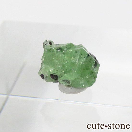 タンザニア産 ツァボライトの結晶(原石) 1.2ct
