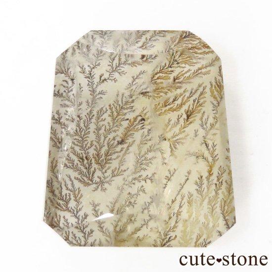 マダガスカル産 デンドリティッククォーツのルース 7.1gの写真0 cute stone