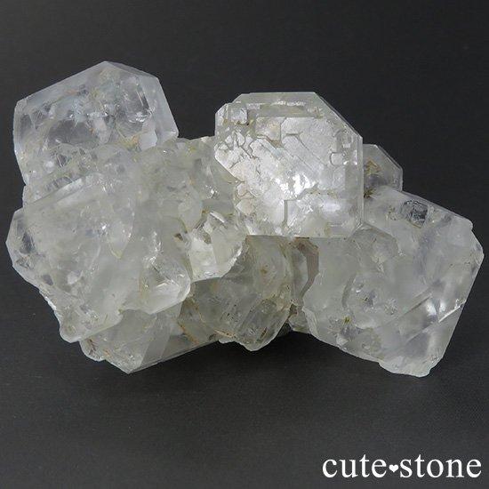 メキシコ ナイカ鉱山産 カラーレスフローライトの原石(クラスター)84gの写真0 cute stone
