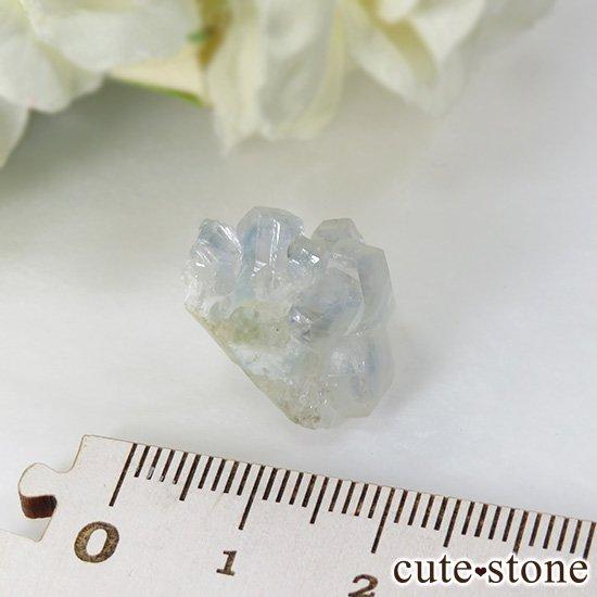 ブラジル産 ユークレースの結晶(原石・クラスター) 19.4ctの写真4 cute stone