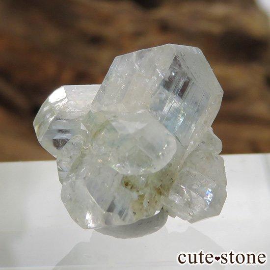 ブラジル産 ユークレースの結晶(原石・クラスター) 12.9ctの写真1 cute stone