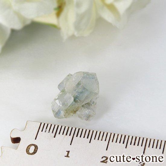 ブラジル産 ユークレースの結晶(原石・クラスター) 12.9ctの写真4 cute stone