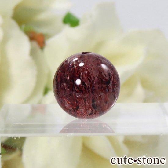 【粒売り】 ファイアークォーツ AAAA ラウンド10.5mmの写真0 cute stone