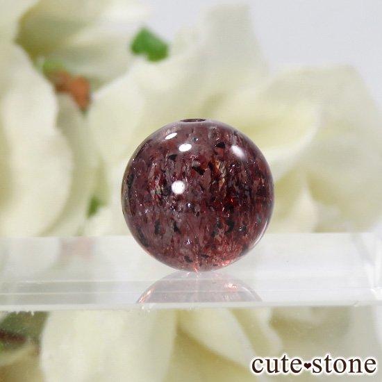 【粒売り】 ファイアークォーツ AAAA ラウンド10.5mmの写真1 cute stone