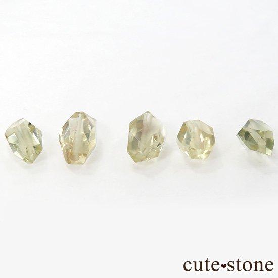 【粒売り】 オレゴンサンストーン AA タンブルカット 5粒セットの写真1 cute stone