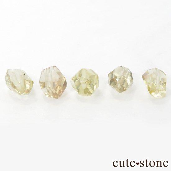 【粒売り】 オレゴンサンストーン AA タンブルカット 5粒セットの写真0 cute stone