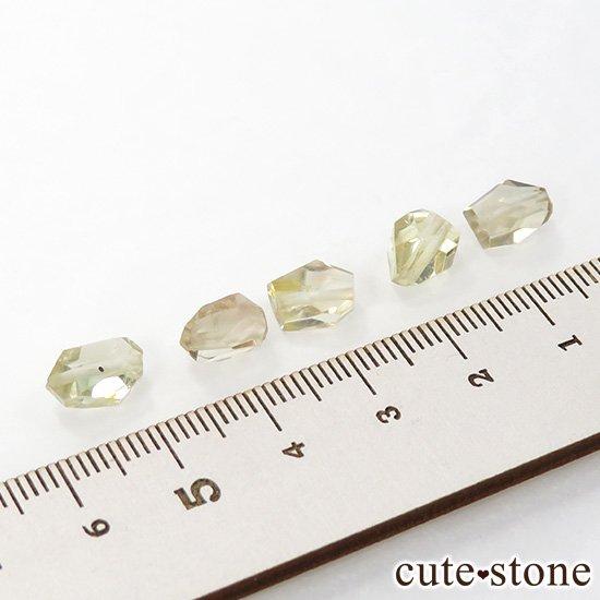 【粒売り】 オレゴンサンストーン AA タンブルカット 5粒セットの写真2 cute stone