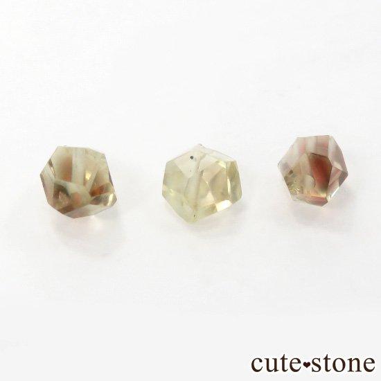 【粒売り】 オレゴンサンストーン AA タンブルカット 3粒セットの写真1 cute stone