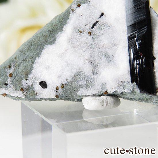 カリフォルニア産 ネプチュナイトの母岩付き結晶(原石) 14gの写真5 cute stone