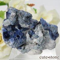 カリフォルニア産 ベニトアイトの母岩付き結晶(原石) 9gの画像