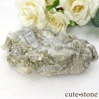 パキスタン産 アクアマリンの原石(クラスター) 120gの画像