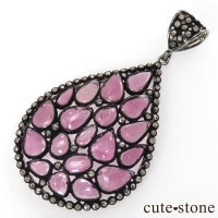 マハラジャジュエリー ピンクトルマリン&ダイヤモンドのペンダントトップの画像