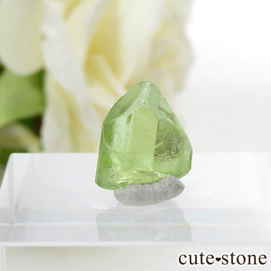 パキスタン産 ペリドットの結晶(原石)4.5ct