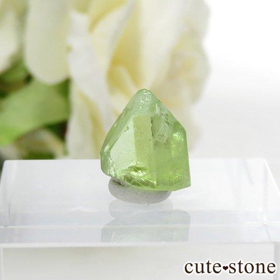 パキスタン産 ペリドットの結晶(原石)4.5ctの写真0 cute stone